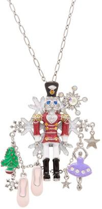 Kirks Folly Nutcracker Suite Pin Pendant Necklace