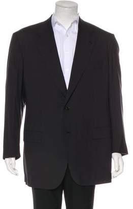 Kiton Wool Two-Button Blazer