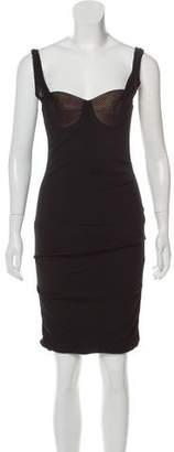Alexander Wang Structured Knee-Length Dress w/ Tags