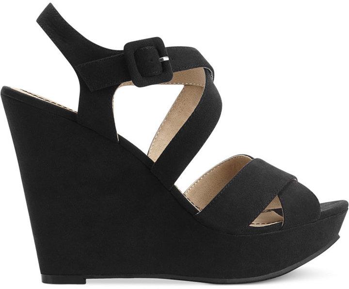 American Rag Rachey Platform Wedge Sandals, Only at Macy's