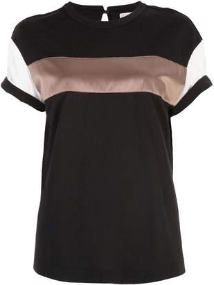Brunello Cucinelli colour-block T-shirt