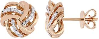 Rina Limor Fine Jewelry Women's 14K Pink Gold & Diamond Earrings
