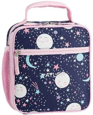 Pottery Barn Kids Mackenzie Pink Navy Glow In The Dark Moons Backpacks