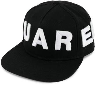 DSQUARED2 oversized logo baseball cap