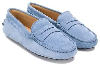 Tod's (トッズ) - Tod's Kids slip-on loafers