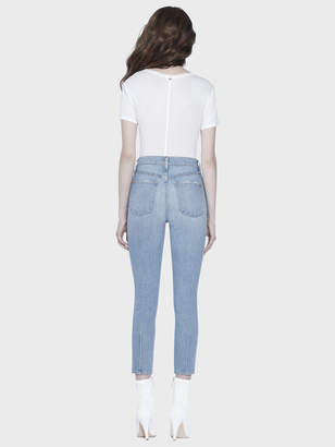 5c0ca93aa4 ... Alice + Olivia GOOD HIGH RISE ANKLE SKINNY JEAN