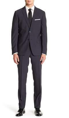 Calvin Klein Solid Slim Fit Suit