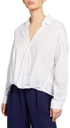 Velvet Astrid Button-Front Top