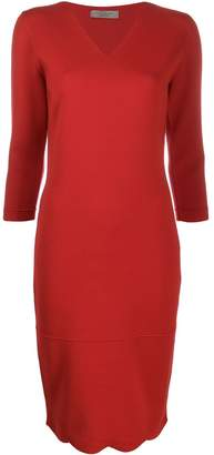 D-Exterior D.Exterior fitted knit dress