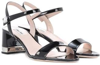 Miu Miu Patent leather sandals