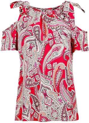 6f3a30005b85b Dorothy Perkins Cold Shoulder Tops For Women - ShopStyle UK