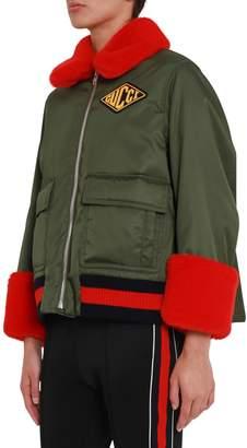 Gucci Bomber Jacket With Detachable Inside Vest