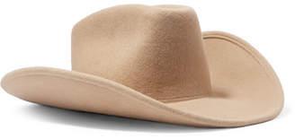 CLYDE Wool-felt Hat - Sand