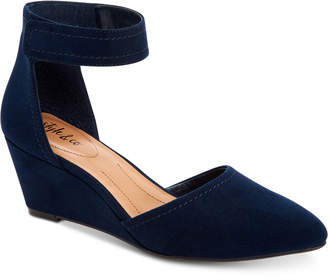 Style&Co. Style & Co Yarah Two-Piece Wedge Pumps