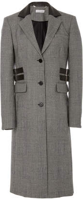 Altuzarra Annie Plaid Wool-Blend Coat