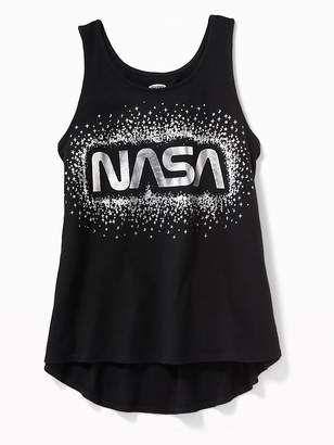Old Navy NASA® Foil-Graphic Tank for Girls