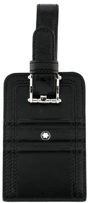 Montblanc Leather Luggage Tag