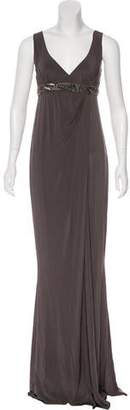 Carlos Miele Draped Embellished Dress
