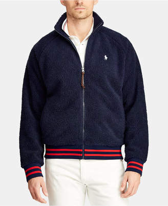 Polo Ralph Lauren Men's Big & Tall Fleece Track Jacket