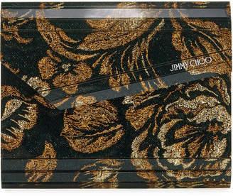 Jimmy Choo Brocade Acrylic Candy Clutch Bag