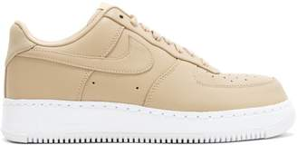 Nike Force 1 Low Vachetta Tan