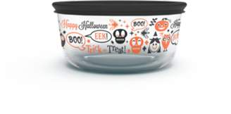Pyrex Simply Store 4-Cup Spooky Fun Storage Dish