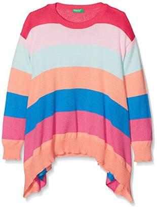 Benetton Girl's Sweater L/s Jumper,(Manufacturer Size: EL)