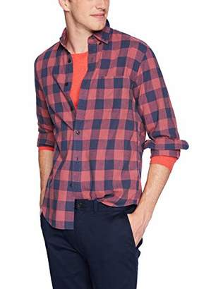 J.Crew Mercantile Men's Slim-Fit Long-Sleeve Plaid Shirt