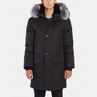 Mackage Vaughn Hooded Jacket with Fur Trim