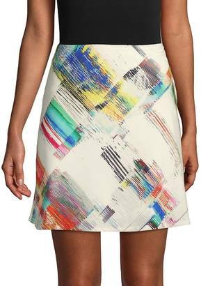 Robert Graham Women's Rachael Printed Mini Skirt