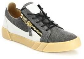 Giuseppe Zanotti Multitoned Low-Top Sneakers