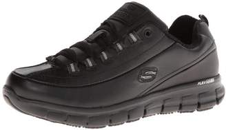 Skechers Womens Sure Track Trickel Slip Resistant Work Shoe