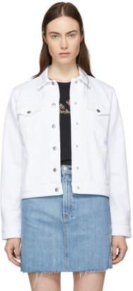 Rag & Bone White Nico Denim Jacket