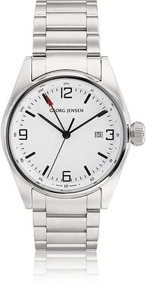 Georg Jensen MEN'S DELTA CLASSIC GMT WATCH