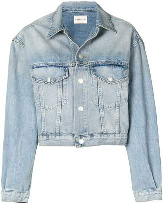 Simon Miller bleached denim jacket