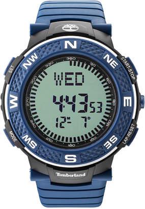 Timberland Men's Mendon Blue Polyurethane Strap Watch 52mm TBL15027XPBBU04P $79 thestylecure.com