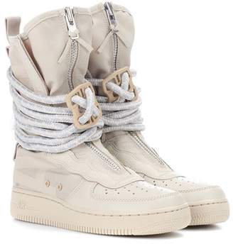 SF Air Force 1 leather boots