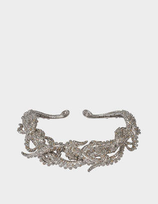 Roberto Cavalli Metal Swar Necklace Octopus