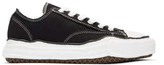 Miharayasuhiro Black Original Sole Canvas Sneakers
