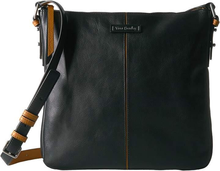 Vera Bradley Gallatin Crossbody Cross Body Handbags - BLACK - STYLE