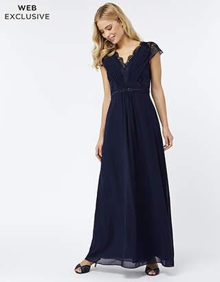 Monsoon Brigitte Lace Shorter Length Dress
