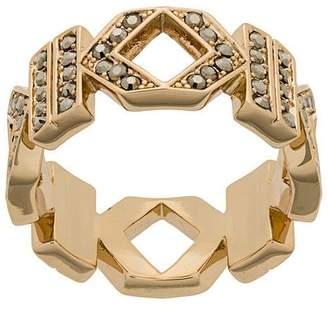 Karl Lagerfeld Double K ring