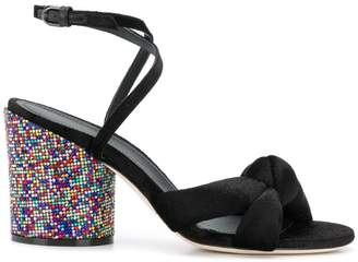 Marco De Vincenzo rainbow heel sandals