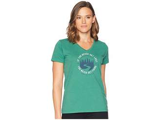 Life is Good Get Lost, Get Found Crusher Vee T-Shirt