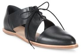 Loeffler Randall Willa Cutout Leather Oxfords $250 thestylecure.com