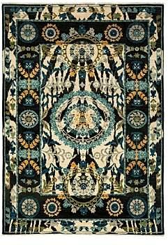 Suzani Collection Oriental Rug, 6'1 x 8'9