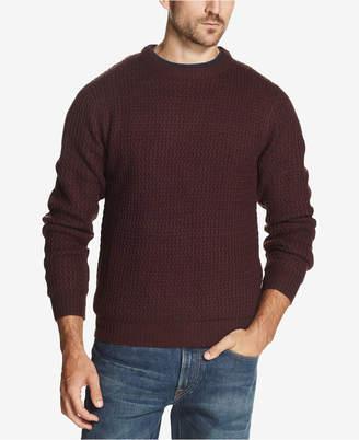 Weatherproof Vintage Men Textured Sweater