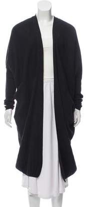 Zero Maria Cornejo Wool Open Front Cardigan