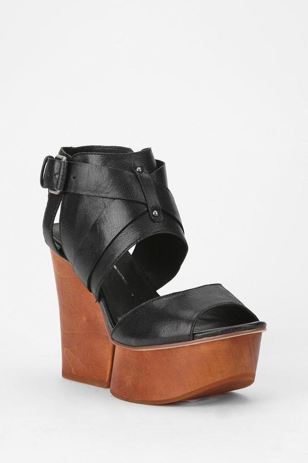 Dolce Vita Magg Wood Platform Sandal