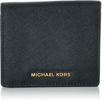 Michael Kors Flap Card Holder - Black